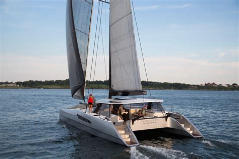 Catamaran Gunboat by Gunboat 55 Nigel Irens Design