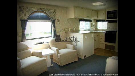 coachmen chaparral rks rear kitchen travel trailer
