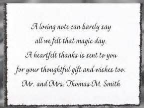 wedding gift thank you notes wedding thank you card wording step by step weddings made easy site