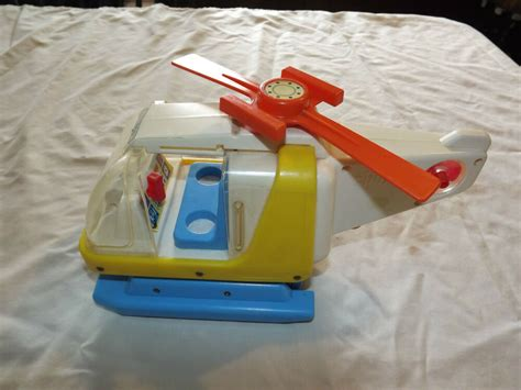 Poltroncina Chicco Ebay : Vintage Chicco Toy Helicopter