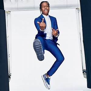 A$AP Rocky Shows Off His Style For GQ Magazine April 2015 ...