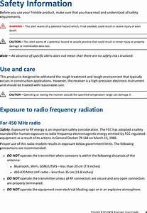 Trimble 9091191 Gnss Receiver 900 Mhz Wi