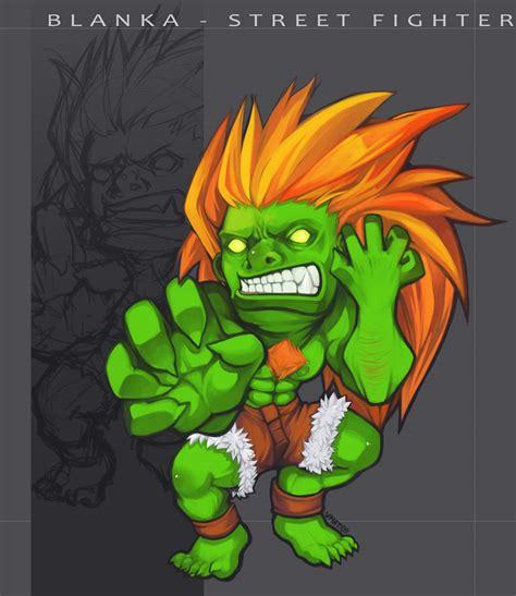 Blanka  Street Fighter By Vmat On Deviantart