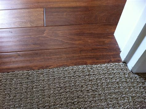 transition from wood to carpet search home