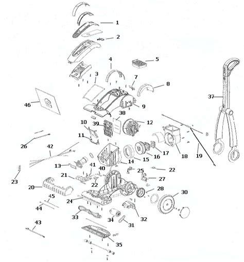 Electrolux Ela Azx Intensity Vacuum Parts