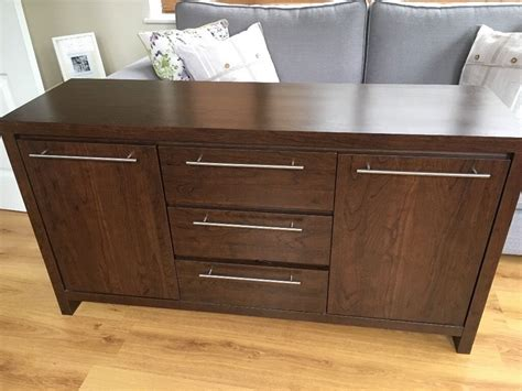 Darkwood Sideboard by Next Wood Sideboard In Hartlepool County Durham