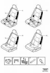 Volvo Xc90 Harness  Seat  Without  Subframe