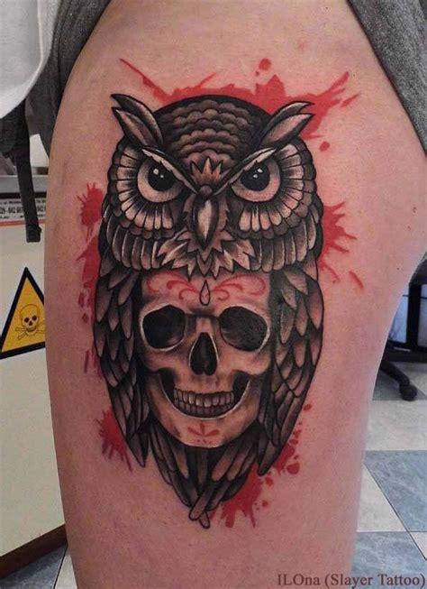 owl skull tattoos designs ideas  meaning tattoos