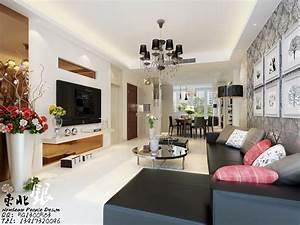living room large flower vase interior design ideas With interior design for long living room