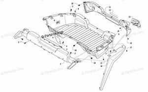 Arctic Cat Side By Side 2017 Oem Parts Diagram For Cargo