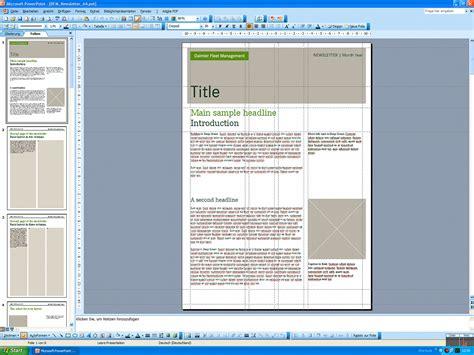powerpoint newsletter template daimler powerpoint templates 2007 2008 messingerdesign