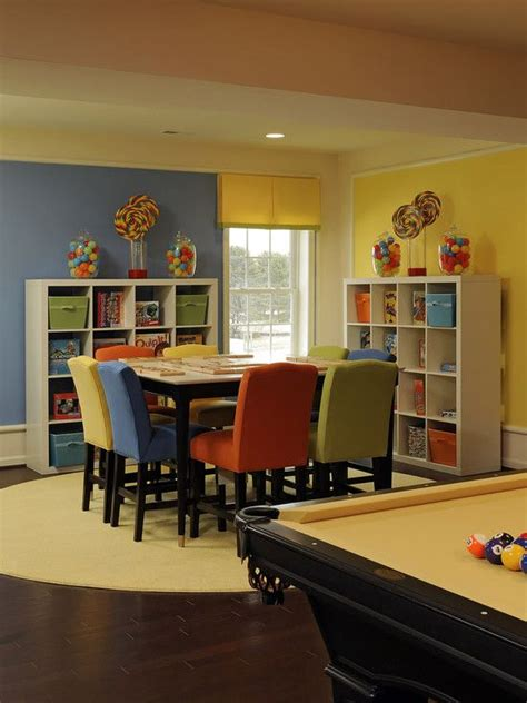 17 Best Ideas About Family Game Rooms On Pinterest Game