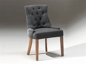 Chaise En Tissu Gris : chaise fauteuil design gris arina zd1 c c tis ~ Teatrodelosmanantiales.com Idées de Décoration