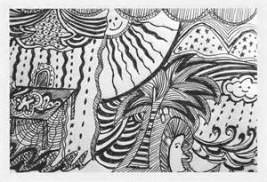 Cool Doodle Pattern