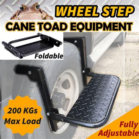 adjustable wheel step tyre ladder lift stair foldable van