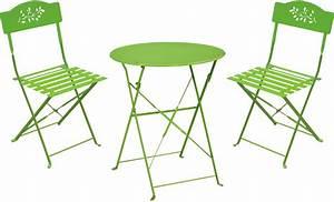 Petite Table De Jardin : ensemble de jardin diana 1 table 2 chaises ~ Dailycaller-alerts.com Idées de Décoration