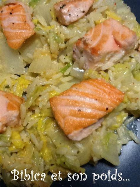 cuisiner le chou chinois marmiton dés de saumon sur chou chinois au philadelphia bibica 39 s