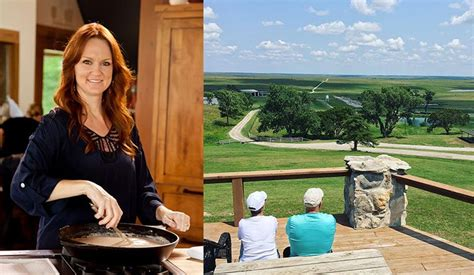 pioneer woman ree drummond opens   lodge  guest tours