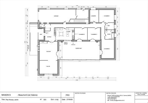 maison moderne plain pied 4 chambres nouveau plan de maison moderne plain pied 4 chambres