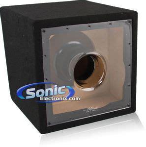 custom subwoofer box design custom enclosures 12mjsg single 12 quot custom designed ported