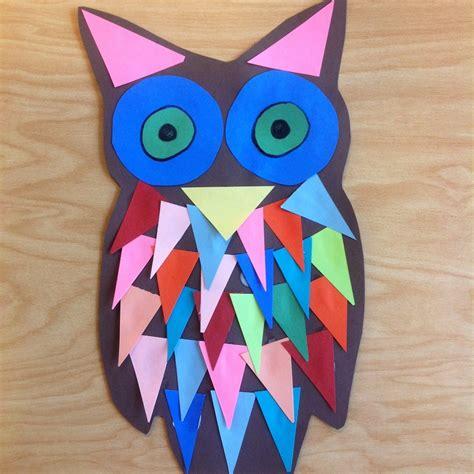 kindergarten shape owls tinyartroom 893 | 20130903 111313