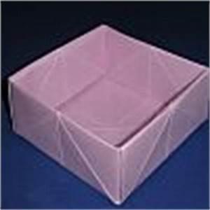Quadratische Schachtel Falten : basteln mit papier papierfalten origami mit anleitungen ~ Eleganceandgraceweddings.com Haus und Dekorationen