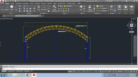 solved draw radial truss autodesk community