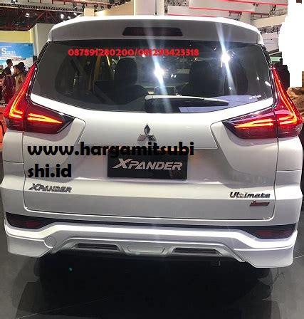 Mitsubishi Xpander Limited 2019 by Xpander Limited Rear Harga Mobil Mitsubishi 2019