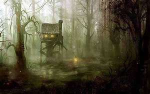 artistic drawing painting spooky
