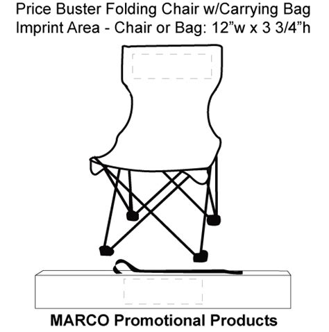 folding chair w carrying bag without arms royal od 08b