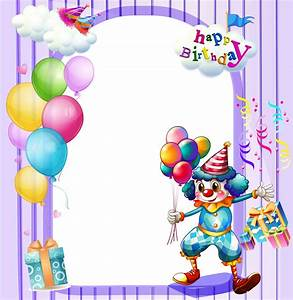Free Birthday Frames - Cliparts.co
