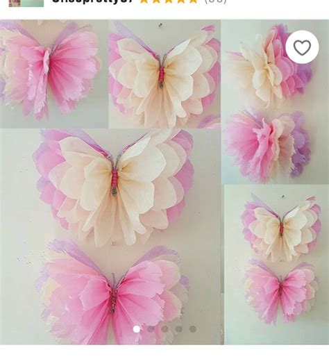 Butterfly Birthday Table Decoration Ideas