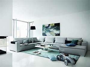 Deco Salon Contemporain : am nager un salon moderne elle d coration ~ Melissatoandfro.com Idées de Décoration