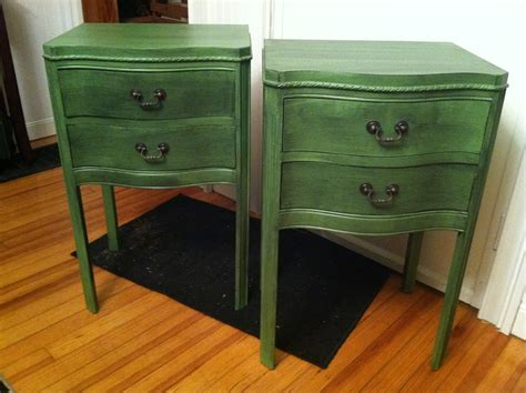 Nightstand For Sale by The Blessed Nest Stunning Set Of Antique Nightstands For