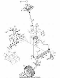 Mtd 13ap625k730  2007  Parts Diagram For Steering  U0026 Wheels