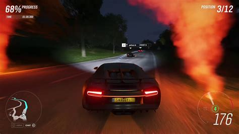 Forza horizon 4 featured an impressive 460 cars at launch, and today that insane selection spans beyond 720 vehicles. Driving the Bugatti Chiron in Forza Horizon 4 - YouTube