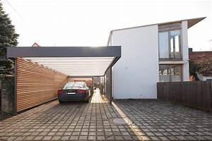 Moderne Carports Mit Glasdach : carport moderne garage schuppen von architekt armin h gele garagenverl ngerung pinterest ~ Markanthonyermac.com Haus und Dekorationen