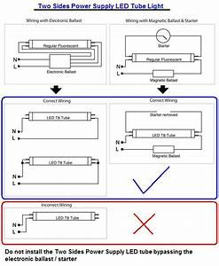 2 Lamp Led Tube Wiring Diagram  2  Free Wiring Diagrams