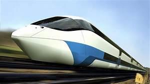 Fastest Train In The World 500 Km  H - Bullet Train