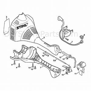 Stihl Fs 45 Brushcutter  Fs45c  Parts Diagram  Engine Housing