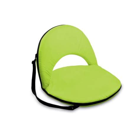 picnic time oniva picnic seat deluxe lime