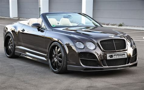 bentley gtc bentley continental gtc by prior design
