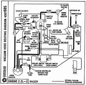 Vacuum Hose Routing Diagrams