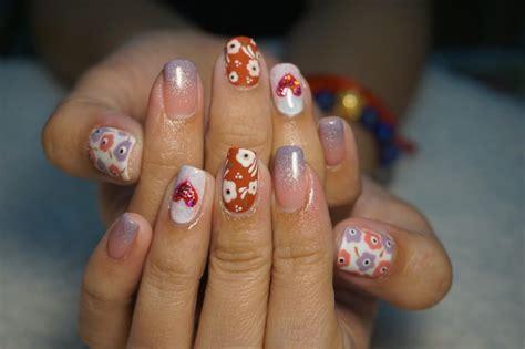 nail art trend  thailand flower nail art top nail art