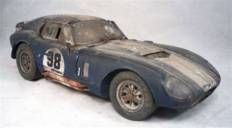 Barn Find Shelby Collectibles Cobra Daytona Custom
