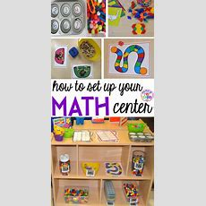 How To Set Up The Math Center In An Early Childhood Classroom  Pocket Of Preschool