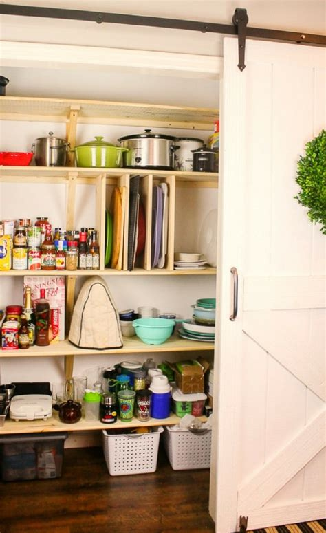 How To Build A Diy Pantry  Blogger Bests