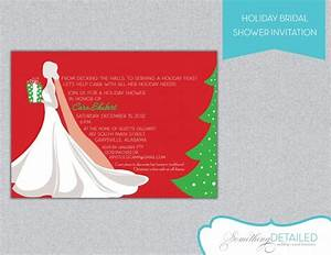 holiday bridal showers christmas wedding shower ideas With christmas wedding shower
