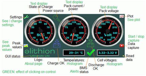 elithion lithiumate lite or pro bms lithium battery bms lifepo4 limn204 bms