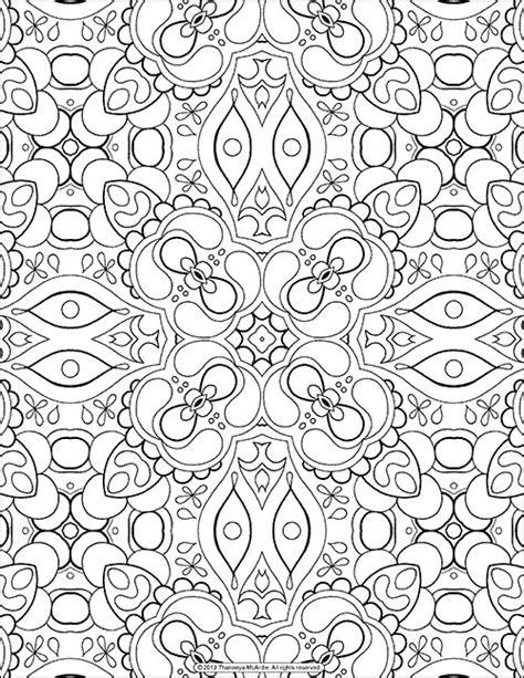 printable mandala  abstract coloring pages